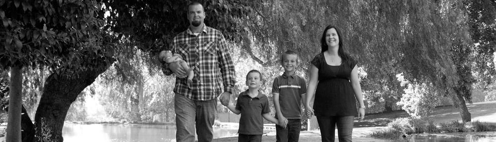A happy Yucaipa home birth family
